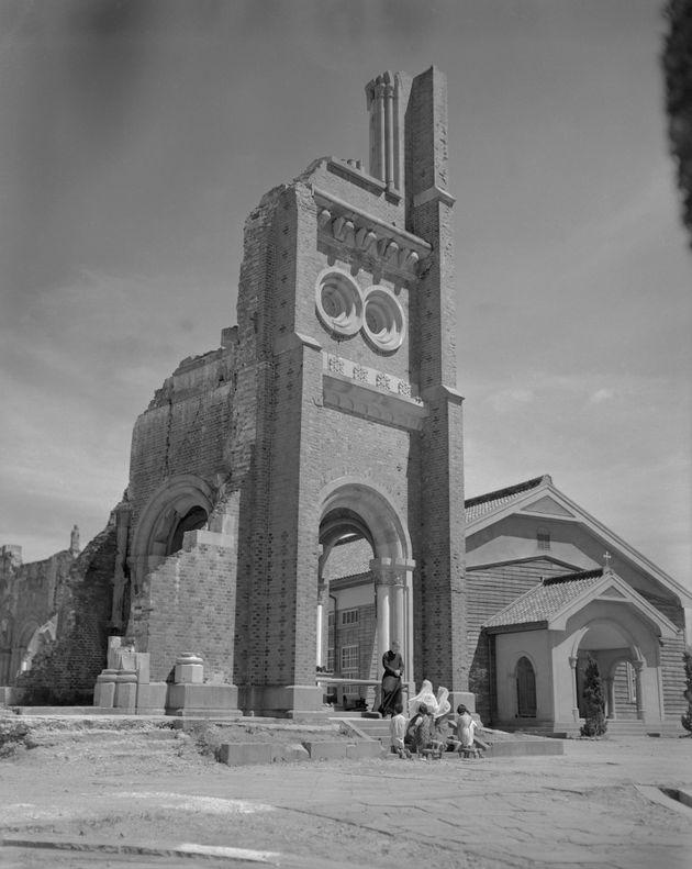 解体前の浦上天主堂