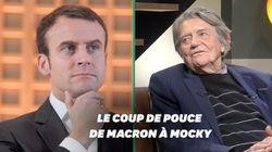 Sans Macron, Jean-Pierre Mocky n'aurait sans doute jamais réalisé cette