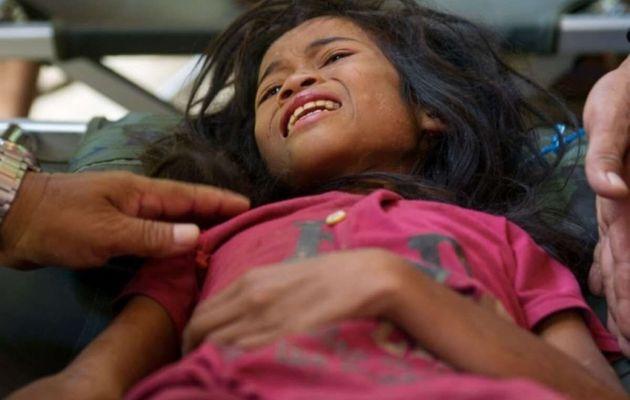 Norieen Yaakob, de la tribu temiar de Malasia, sobrevivió a duras penas al escapar de su internado....