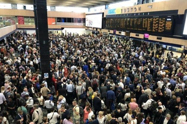 All London Euston Trains Delayed And Cancelled After Signal Failure