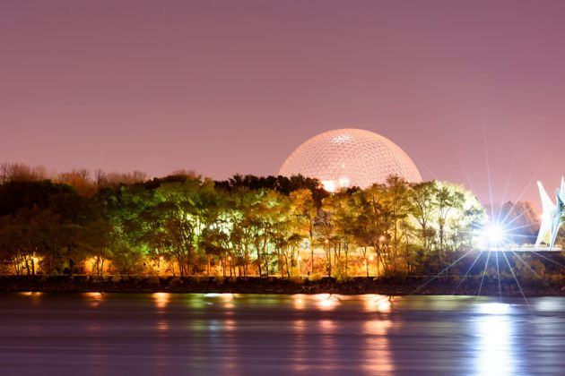 Montreal's Parc Jean-Drapeau pictured at