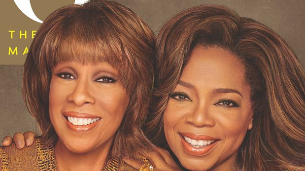 Gayle King and Oprah Winfrey featured on the cover of O, The Oprah Magazine.