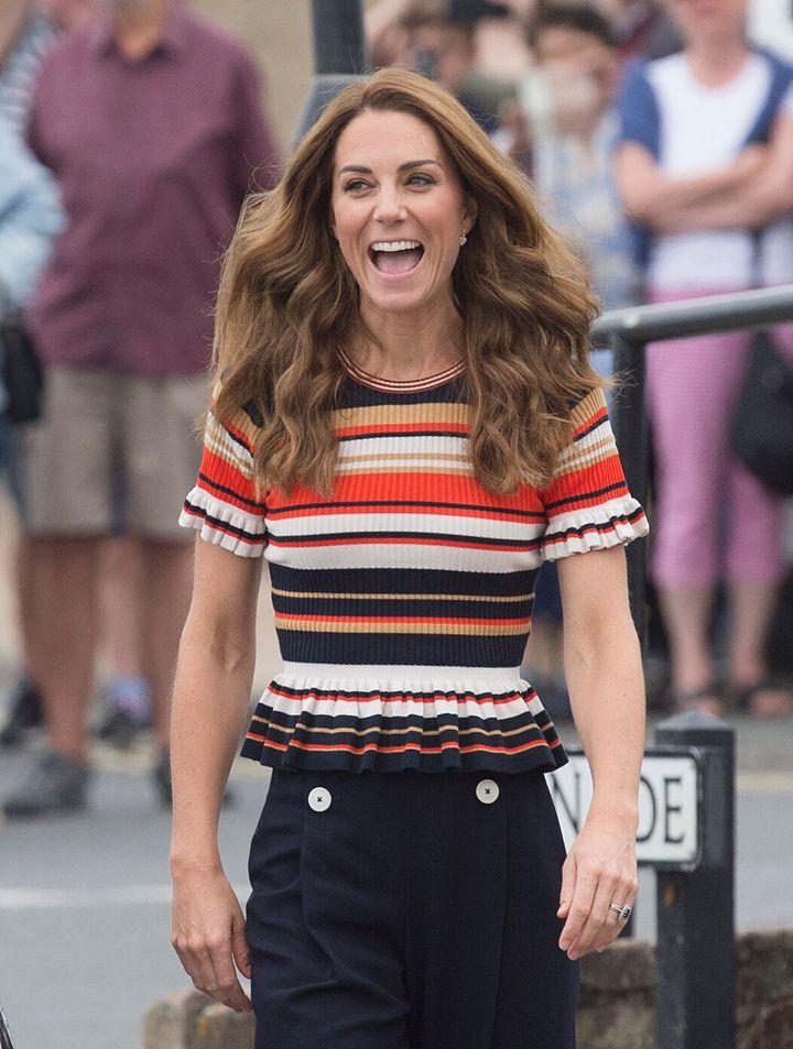 All smiles at the regatta!