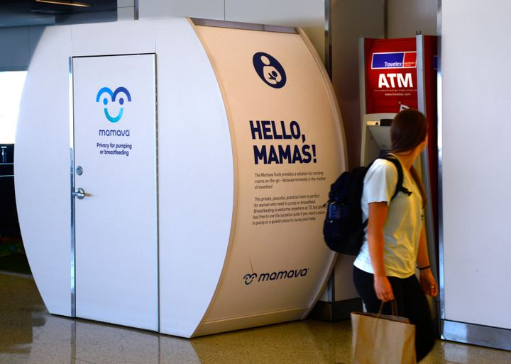 Vancouver International Airport just added a new breastfeeding pod (like this one at New York's John F. Kennedy's International Airport) to its U.S. terminal.