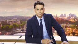 Julian Bugier se moque du JT de TF1, victime d'un problème