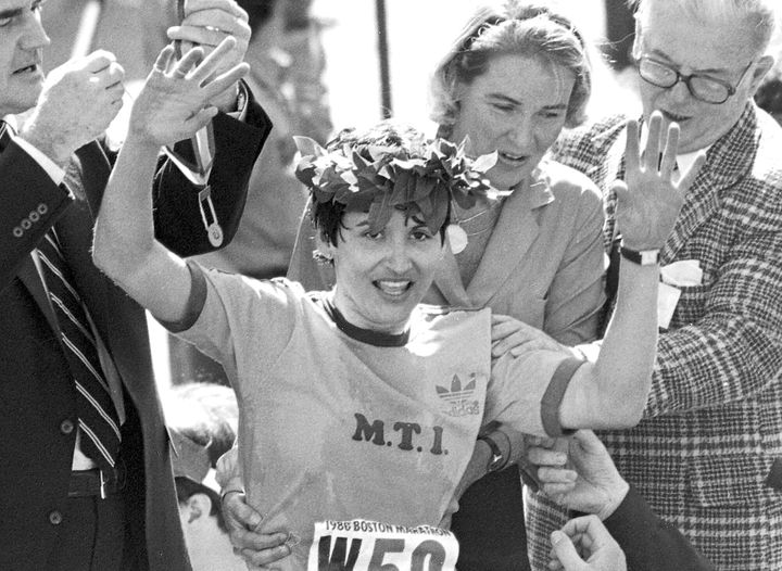 Rosie Ruiz was stripped of her title eight days after the race. Canadian Jacqueline Gareau was declared the rightful winner a