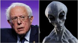 Bernie Sanders Says He'll Reveal The Truth About Aliens If Elected