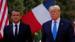 Sur l'Iran, Trump recadre Macron qu'il accuse de parler au nom des