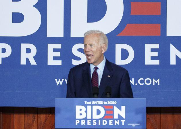 Joe Biden en campagne dans l'Iowa, août