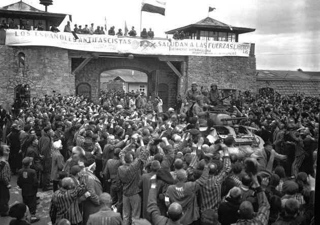 Liberación del campo de Mauthausen, el 6 de mayo de