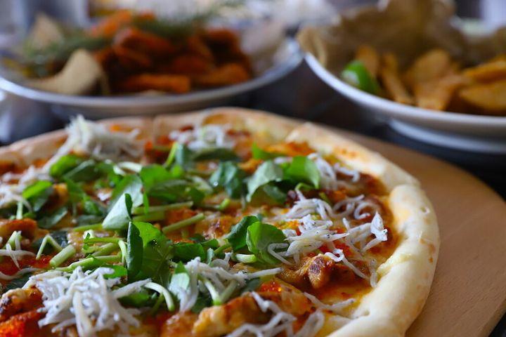 Nanz Villageで食べたご当地ピザ