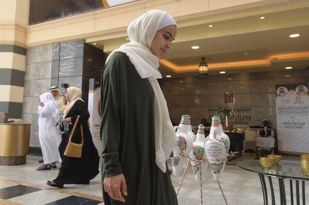 Farah Talal, dont l'époux Atta Elayyan faisait partie des 51 personnes tuées dans le massacre...