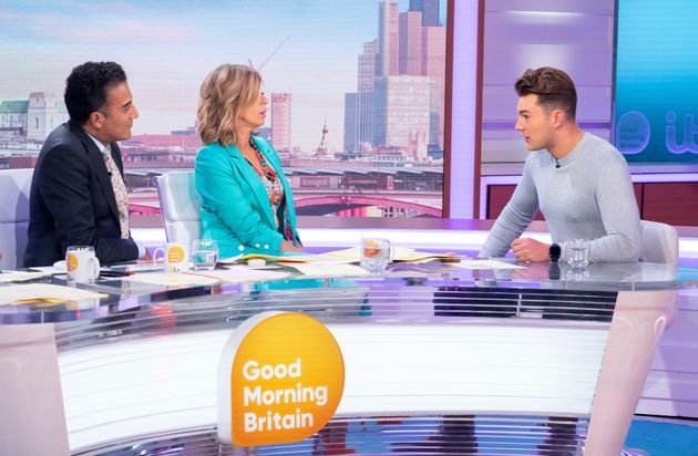 Curtis Pritchard appeared on Thursday's Good Morning