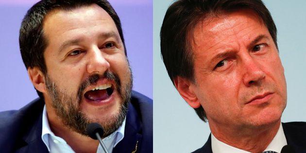 Matteo Salvini y Giuseppe