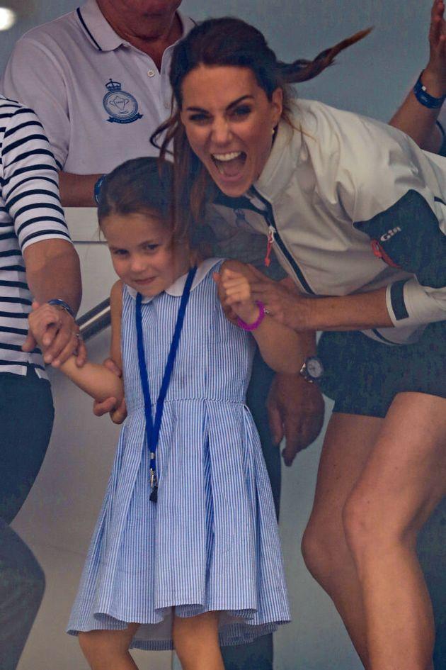 La foto de la princesa Charlotte que Kate Middleton no pudo evitar: se quedó con esta