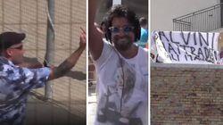 In attesa di Salvini a Termoli, è scontro tra fan e contestatori. Ma il dj continua a suonare