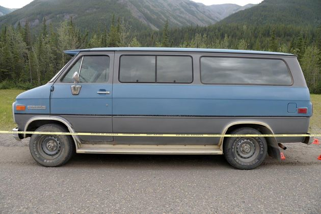 It is believed the couple were travelling in this vehicle when they were