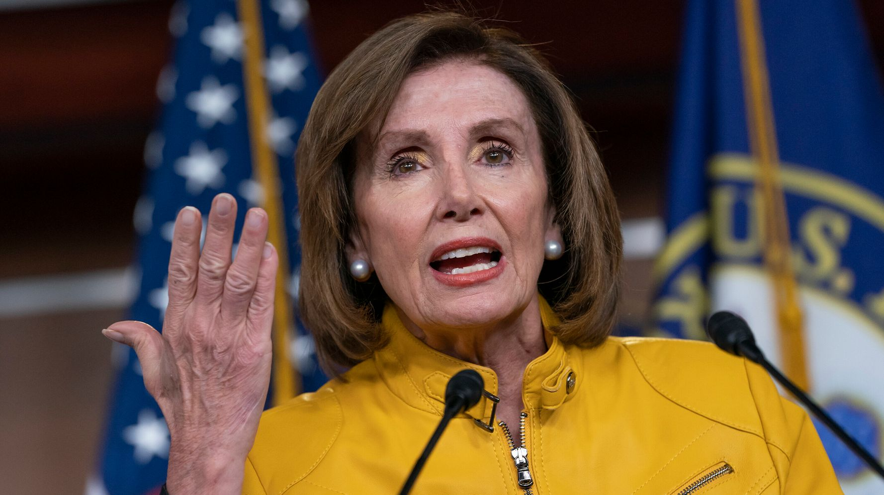 Westlake Legal Group 5d4d62de240000a945937cd6 Pelosi Urges Trump To Bring Senate Back From Vacation To Pass Gun Reforms