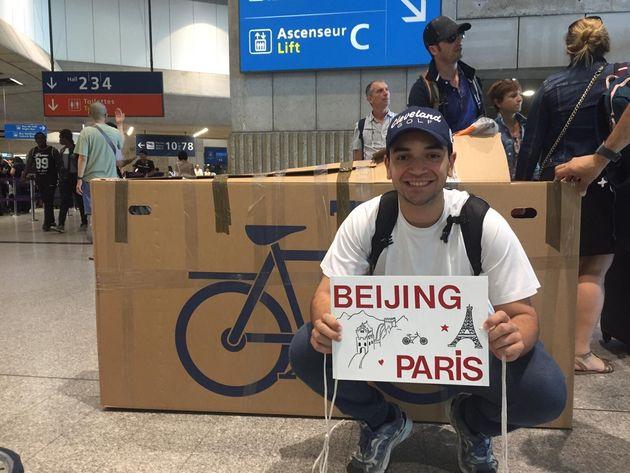 De Pékin à Paris à vélo, le défi fou d'un jeune étudiant