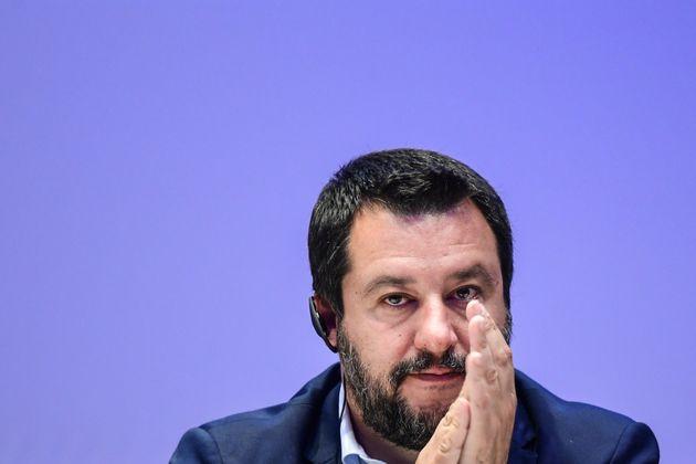 Le ministre de l'Intérieur Matteo Salvini a réclamé jeudi 8 août des...