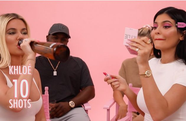 Kylie Jenner And Khloe Kardashian Get Drunk And Do Their