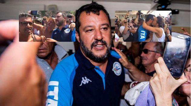 Da Termoli Salvini ordina un pressing asfissiante per il
