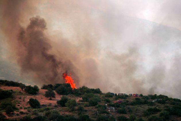 «Κόκκινος» συναγερμός από τη ΓΓΠΠ: Πολύ υψηλός κίνδυνος πυρκαγιάς το