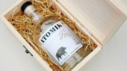 Conheça 'Atomik', a nova vodca feita com água e grãos de