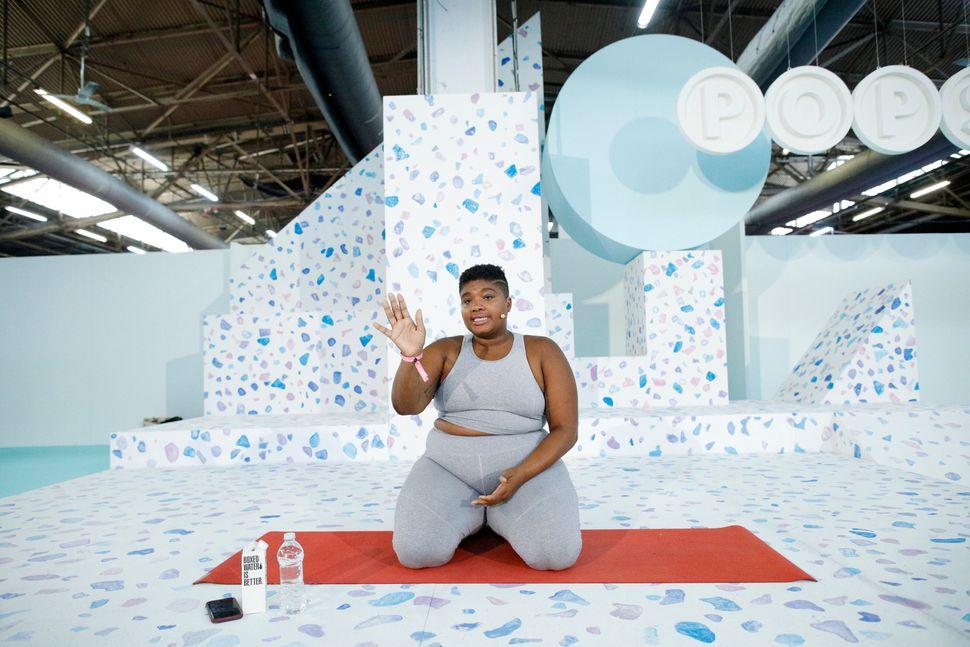 Jessamyn Stanley, yoga instructor and body positivity activist, got her start in Bikram yoga.