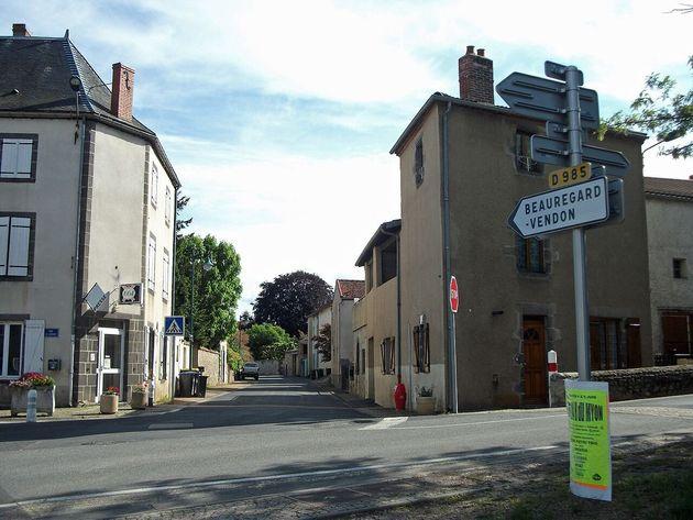 La commune de Saint-Myon dans le