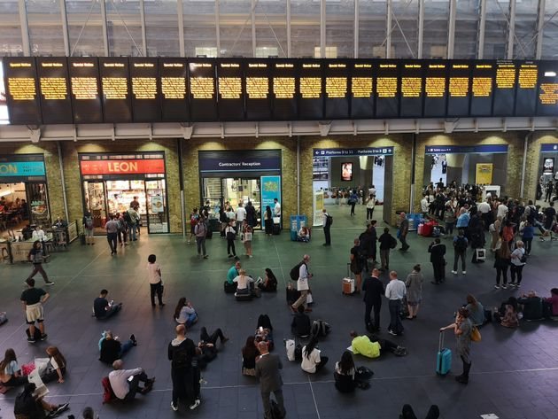 Here's How The Weather And Power Cut Are Affecting Train Services Today