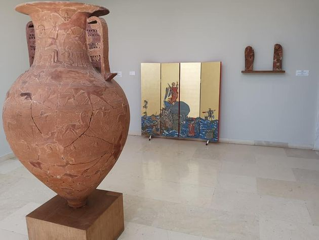 Ζευς και Αθηνά στο Αρχαιολογικό Μουσείο