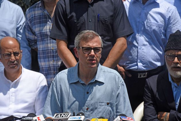 National Conference leader Omar Abdullah in a file