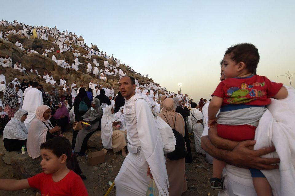 Hadj: ces enfants à La Mecque