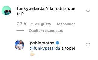 Pablo Motos ('El Hormiguero') tranquiliza a sus seguidores tras caerse varias veces haciendo