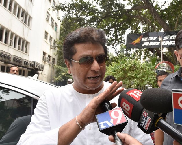 MNS chief Raj Thakeray in a file