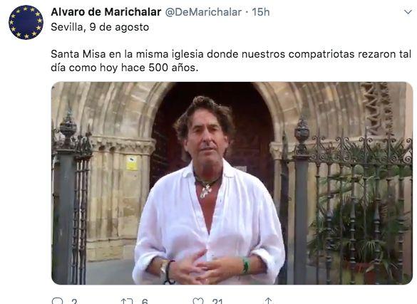 Álvaro de Marichalar comienza el mayor reto de su vida: busca repetir la