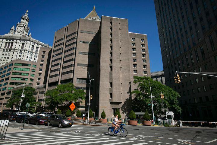 Jeffrey Epstein was held at theMetropolitan Correctional Center in Manhattan.