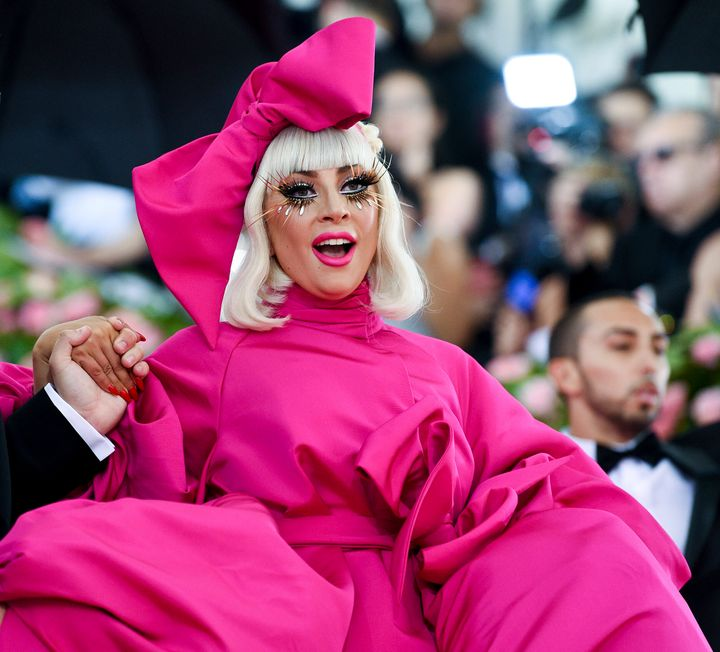 Lady Gaga at The Metropolitan Museum of Art's Costume Institute benefit gala in Manhattan in May.