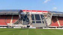 Ολλανδία: Κατέρρευσε τμήμα από το στέγαστρο στο γήπεδο της