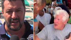 Σαλβίνι σε Ρίτσαρντ Γκιρ: Να πάρεις τους μετανάστες στη βίλα