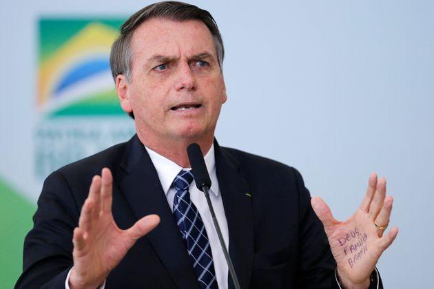 브라질 보우소나루가 '아마존 온실가스 대응책'을 묻자