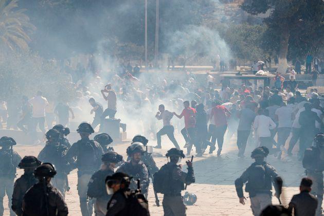 Israël réprime les Palestiniens sur l'esplanade des