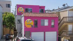 Après une querelle de voisinage, elle repeint sa maison avec d'énormes