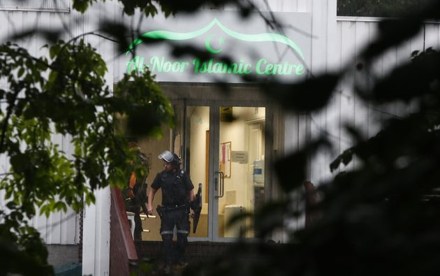 Le centre islamique Al-Noor à Baerum, une banlieue résidentielle d'Oslo, a été...