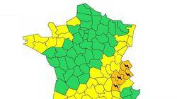 Nouvelle alerte aux orages dans 4 départements de
