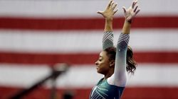 Simone Biles Makes History Again With Jaw-Dropping Beam