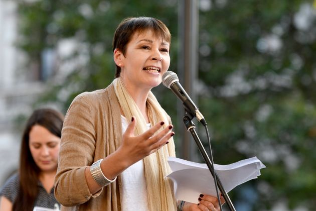 Caroline Lucas Proposes Emergency All-Women Cabinet To Stop No-Deal Brexit And Hold Second Referendum