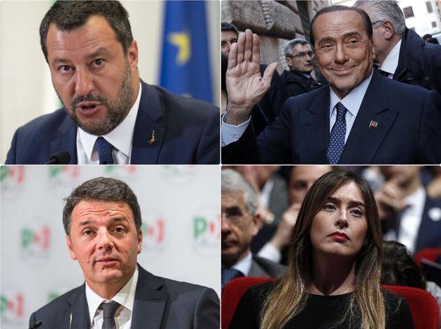 Bolle il telefono tra Pd e Forza Italia. Salvini oggi vede