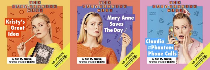 "Elle Fanning narrates the first five audiobooks in ""The Baby-Sitters Club"" series on Audible."